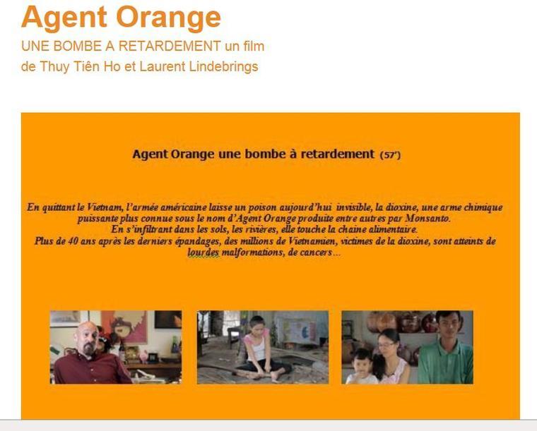 VIETNAM FILM SUR L'AGENT ORANGE