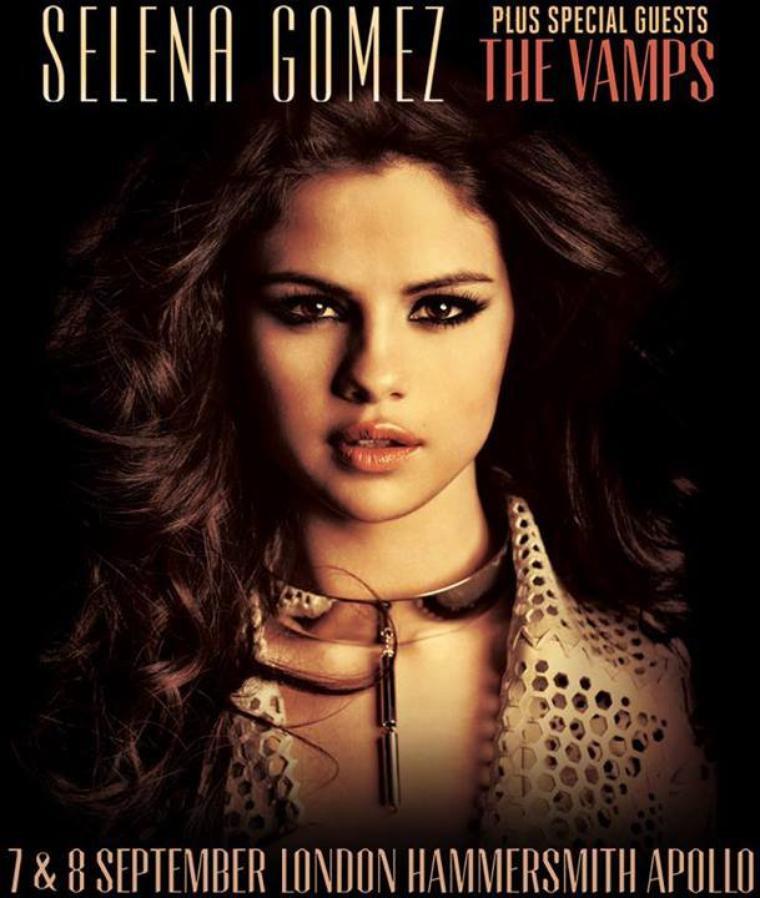 1ère partie de Selena Gomez le 7 & 8 septembre 2013