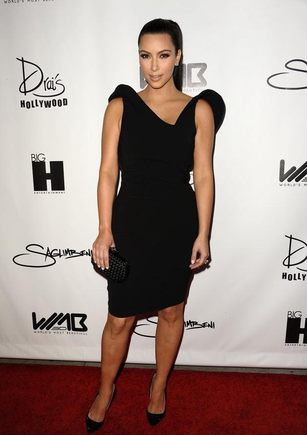 Kim at the World's Most Beautiful Magazine Launch Event (08/10)