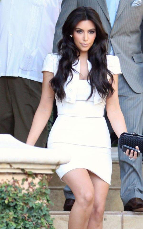 Kim & Kris at their rehearsal at Montage Beverly Hills Hotel (08/18)
