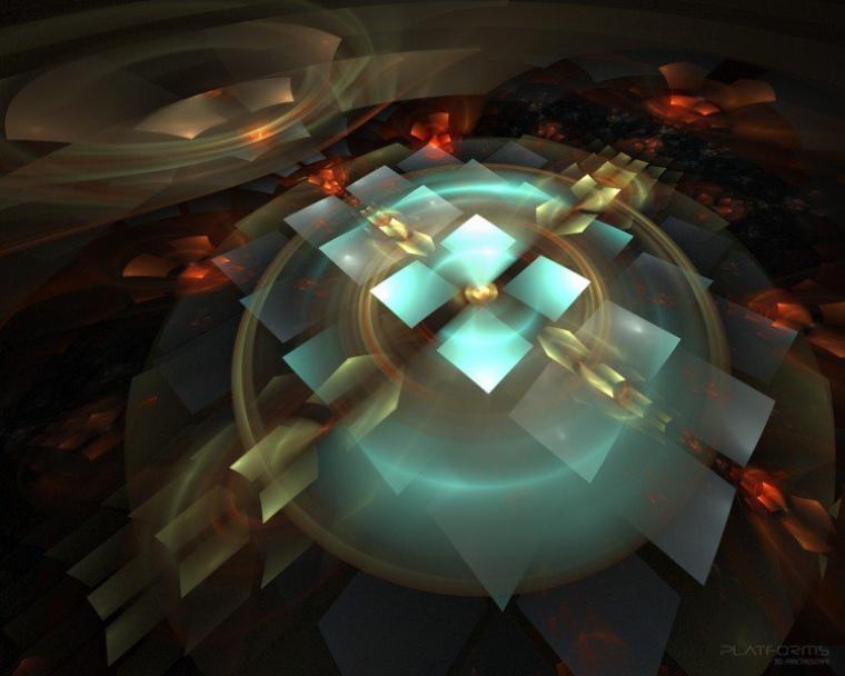 Fond d'écran fractale