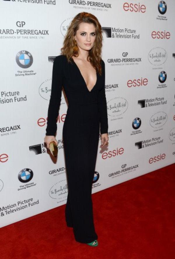 Stana était au week-end d'anniversaire du Beverly hills hotel le 16 juin 2012.