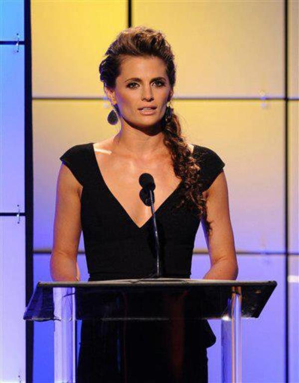 Stana Katic au Critics Choice Television Awards le 18 juin 2012