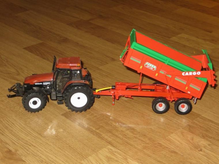 new holland m160 avec benne cargo