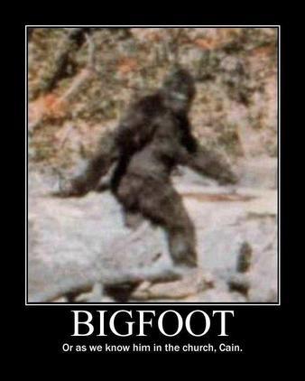 thème 6:La légende du BigFoot/Sasquatch/Yeti