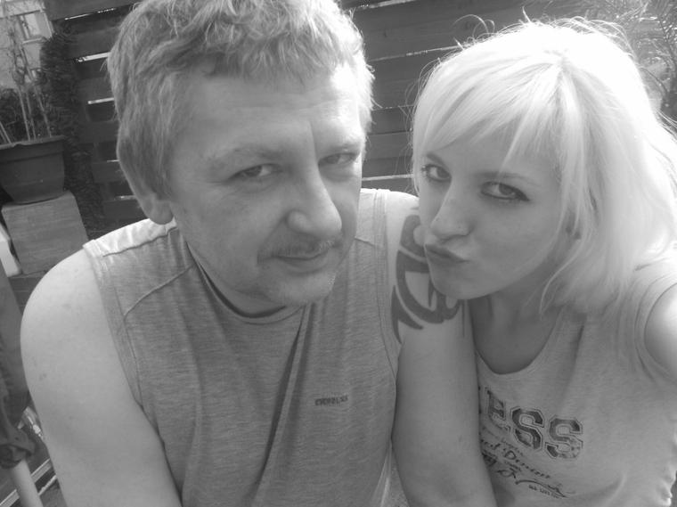 aurélie et son papa