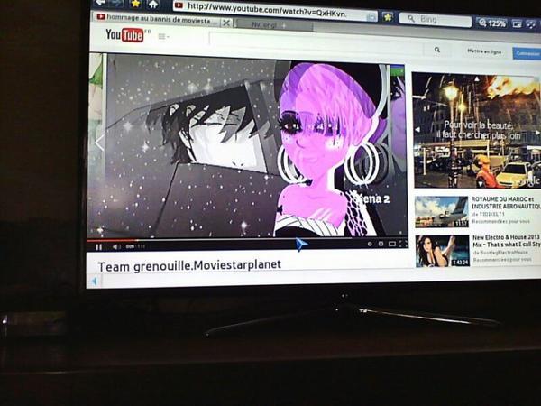 Ta vidéo est genial soeurette ♥♥ ! je la regarde meme sur la télé :D