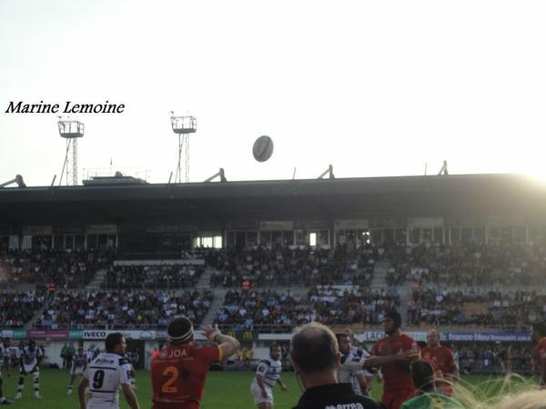 Brive / Perpignan , Top 14 , Saison 2013/2014 ( Parti 3 )