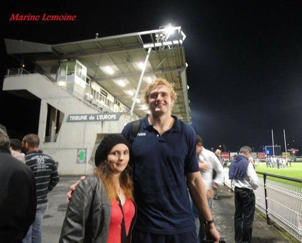 Brive / Castres ( Photos avec les joueurs , parti 1 )