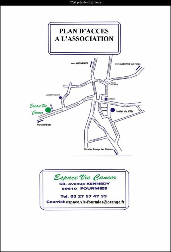Coordonnées   et  plan   d'accès   7