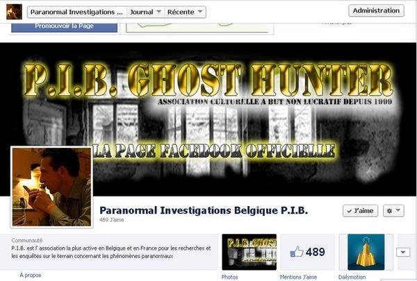 Ghosthunter Belgique