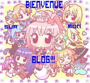Bienvenu sur mon blog :)