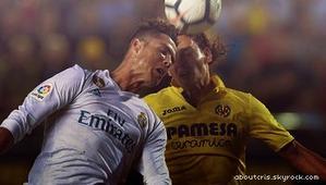 Les Madrilènes font un match nul contre Villareal, les buteurs sont Bale et Ronaldo.