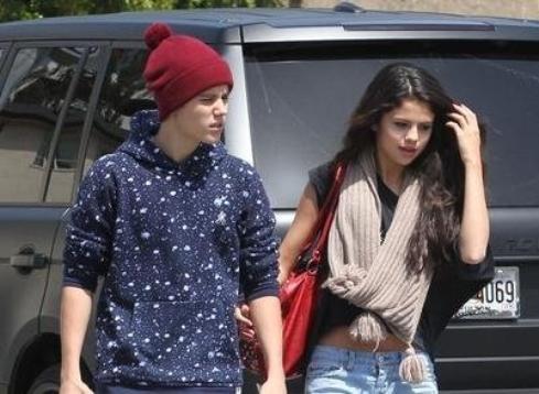 Selena Gomez Justin Bieber à L.A