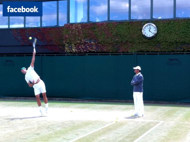 Wimbledon 2011 / 17 : Facebook &co