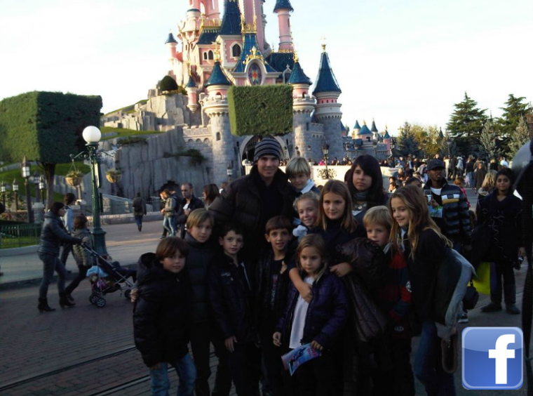 """13.11.11 : """"Week-end avec quelques-uns de mes cousins à EuroDisney ! """""""