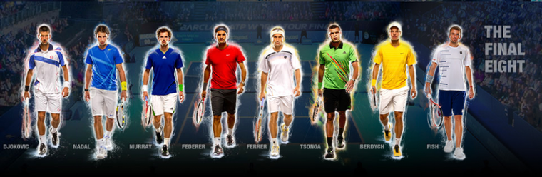World Tour Finals 2011 / 01 : Federer, Tsonga et Fish pour Rafa !