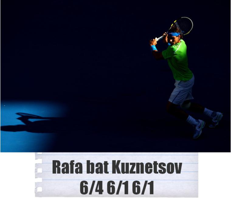 Australian Open 2012 / 04 : 1er tour qui passe !