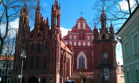 Visita de Vilnius con Jelena (Mars 2012)