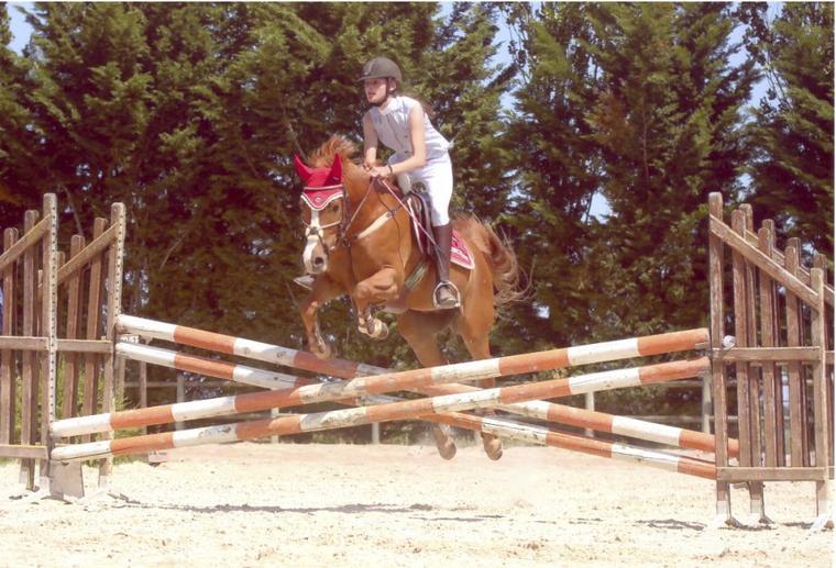 Mon poney a un coeur plus qu'ENOOOOORME !!!
