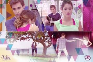 Durant toutes ces saisons, tu aurais aimé que Violetta soit avec qui ?