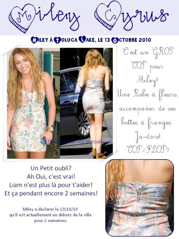 zoom sur le look de miley