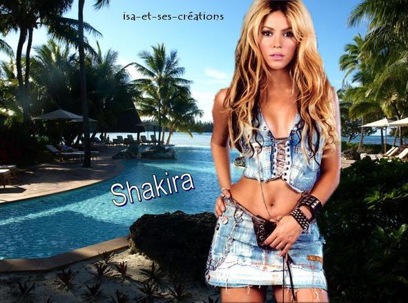 créa de Shakira