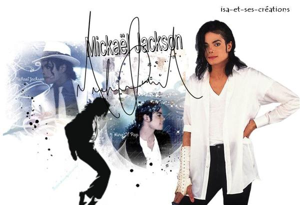 Créa de Mickaël Jackson
