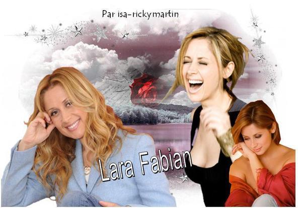 Créa de Lara Fabian