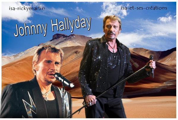 Créa de Johnny Hallyday