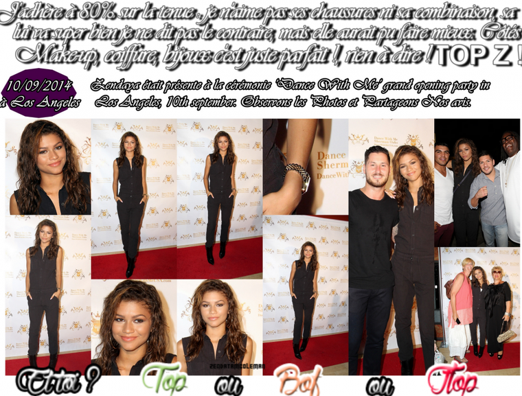 Zendaya aux 'Dance With Me' Grand Opening party in Los Angeles le 10 spetembre