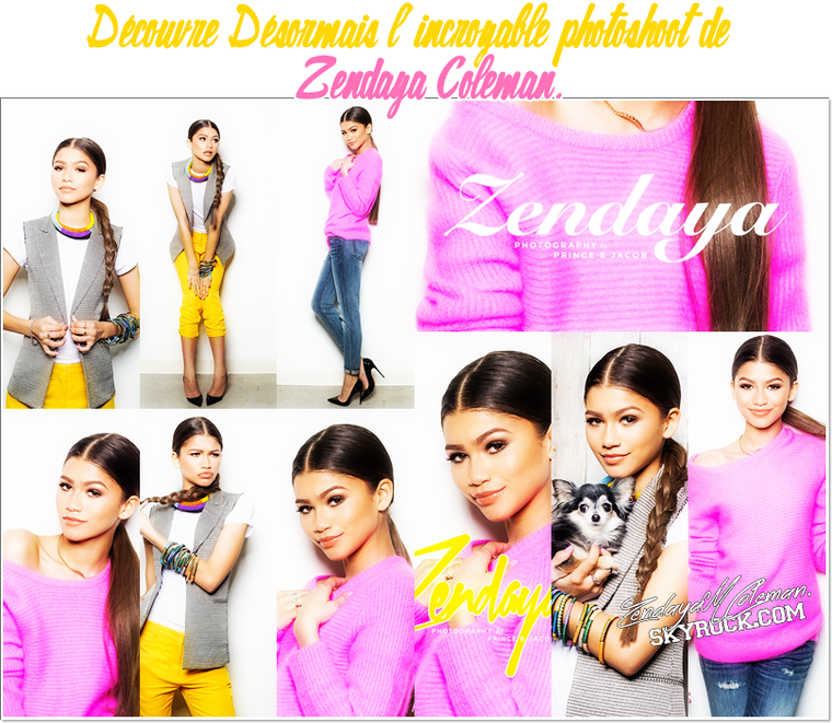 Zendaya Coleman - New Projects + Last Photoshoot