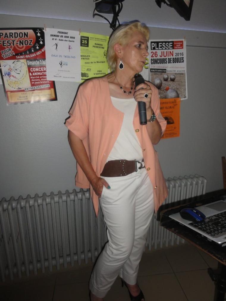 Violaine Guénec à Guenrouët