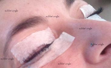 formation réhaussement de cils et mascara semi permanent du 16/04/2012 .
