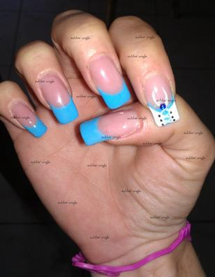 Pose sublim' ongle