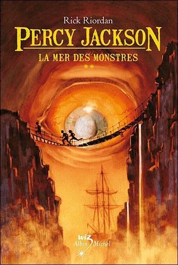 Livre : Saga Percy Jackson, Tome 2 : La mer des monstres