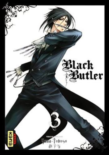 Manga : Black Butler, Volume 3