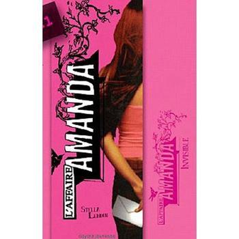 Livres : L'affaire Amanda, tome 1 : Invisible