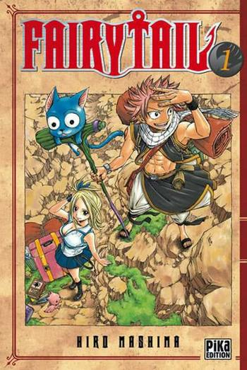 Manga : Fairy Tail, volume 1