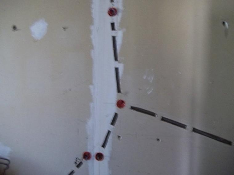 Couloir de la salle bain et des wc