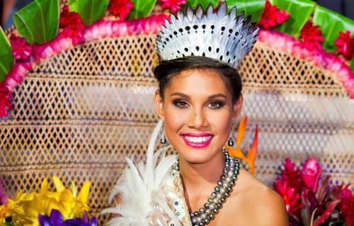 Miss Tahiti - Mehiata Riaria