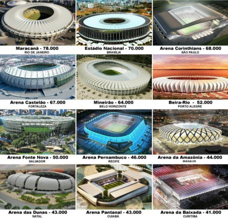 Les stades