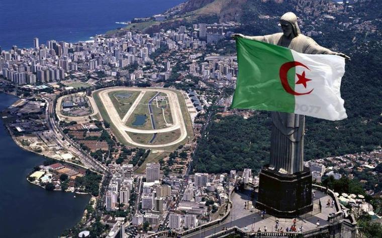 Algériens au Brésil