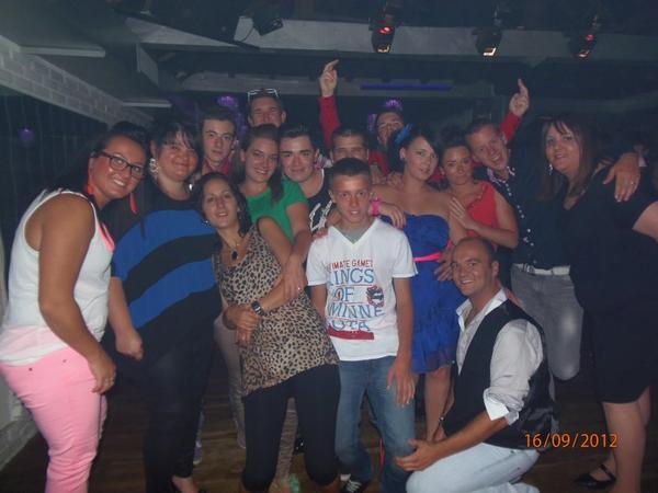 résultat de la soirée du 15 septembre 2012