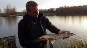 pêche du carnassier au Domaine du grand étang