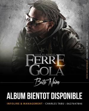 Ferre Gola affiche BOITE NOIRE 2013