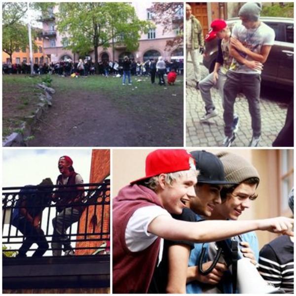 12/05 Les garçons sont encors en Suède.