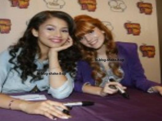 Voici des photos de Bella et Zendaya