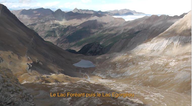 Le Pic Caramantran et le Pic Foréant