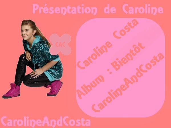 Présentation de Caroline